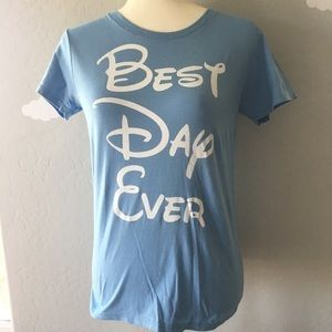 Women's small best day ever Disney Inspired Tee
